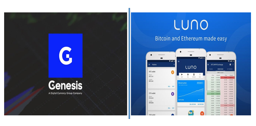 Genesis trading and Luno