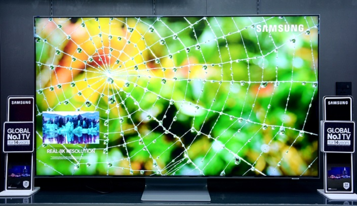 QLED TV FRONT View