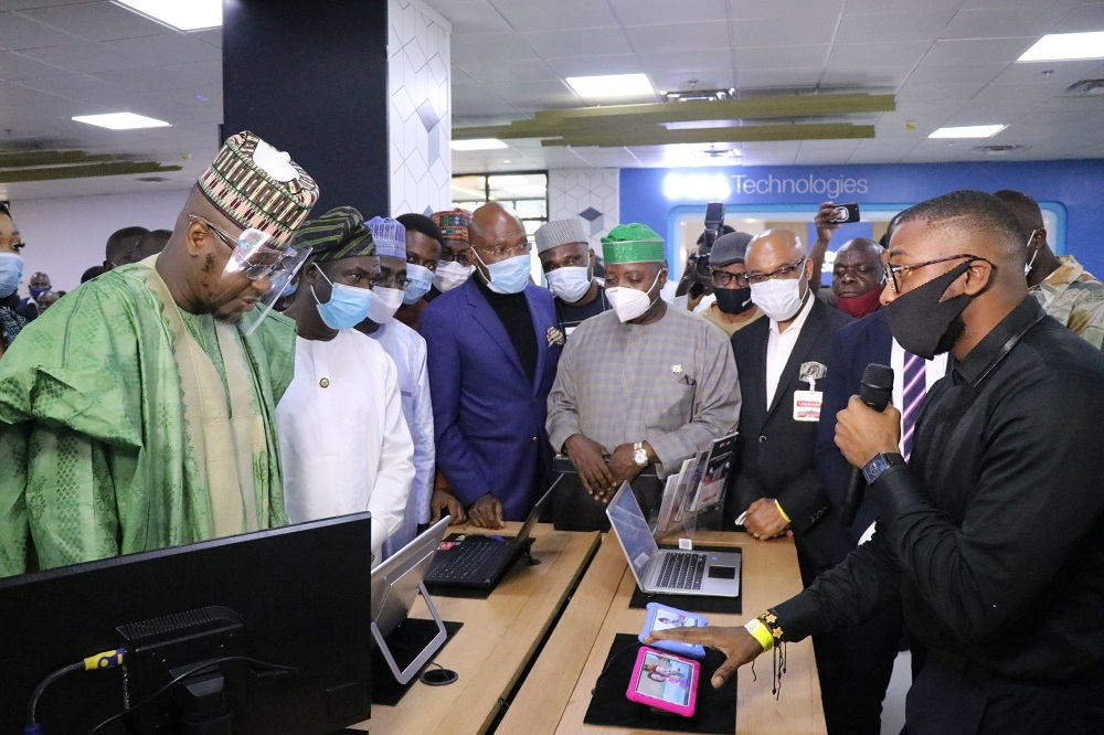 Sanwo-Olu, Pantami leads other dignitaries to launch of Tech Experience