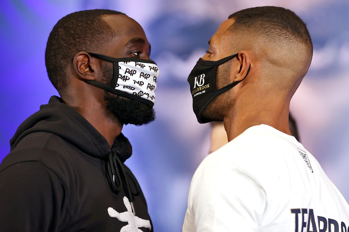 Terence Crawford against Kell Brook live on Startimes