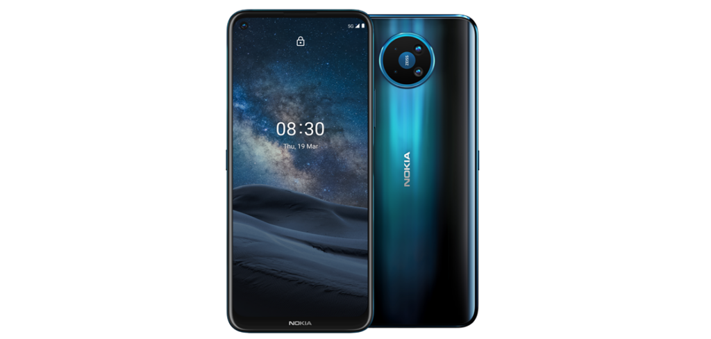 Nokia 8.3 5G with Android 11