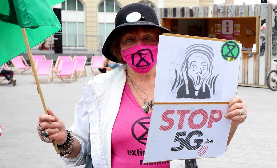 5G and COVID-19 conspiracy