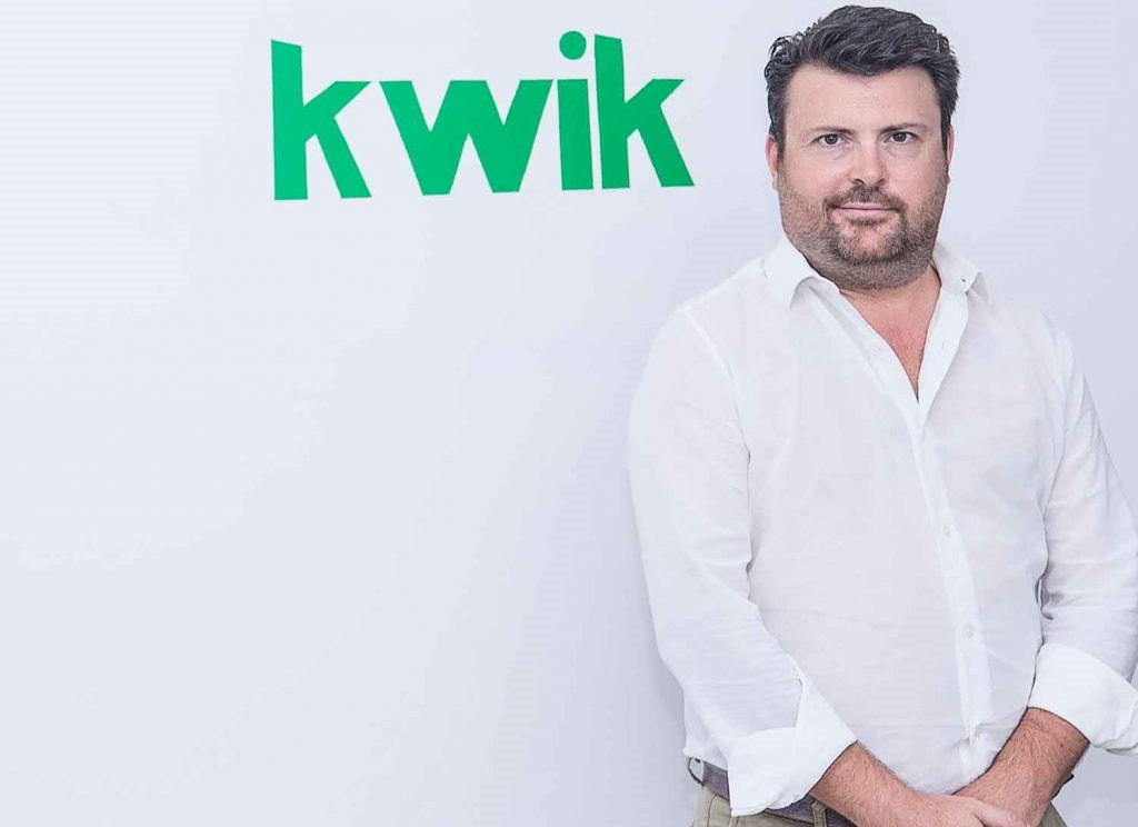 Founder of Kwik Delivery