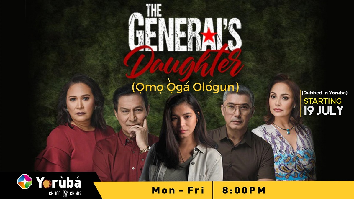 General's daughter on Startimes