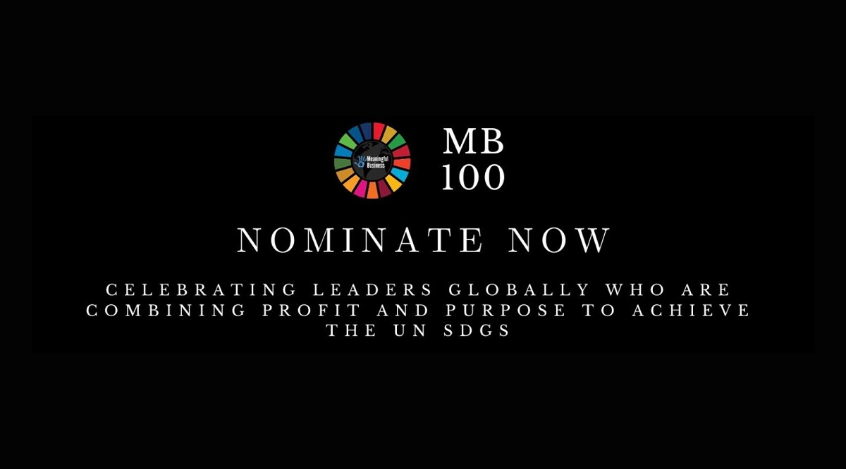 Meaningful Business, MB100 Award