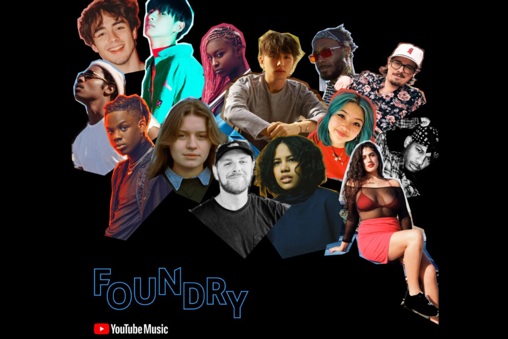 YouTube Music Foundry Artist Collage