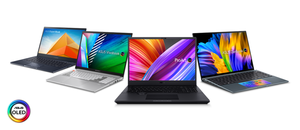 OLED Laptop Lineup