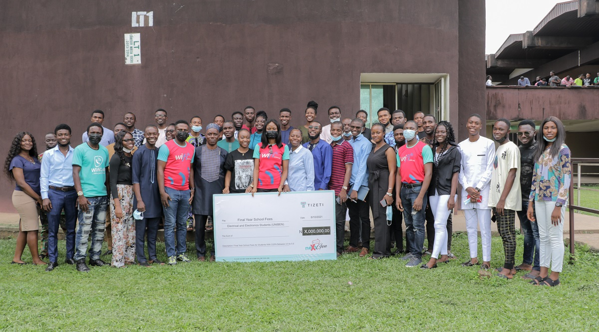 Tizeti CEO gives scholarship to students